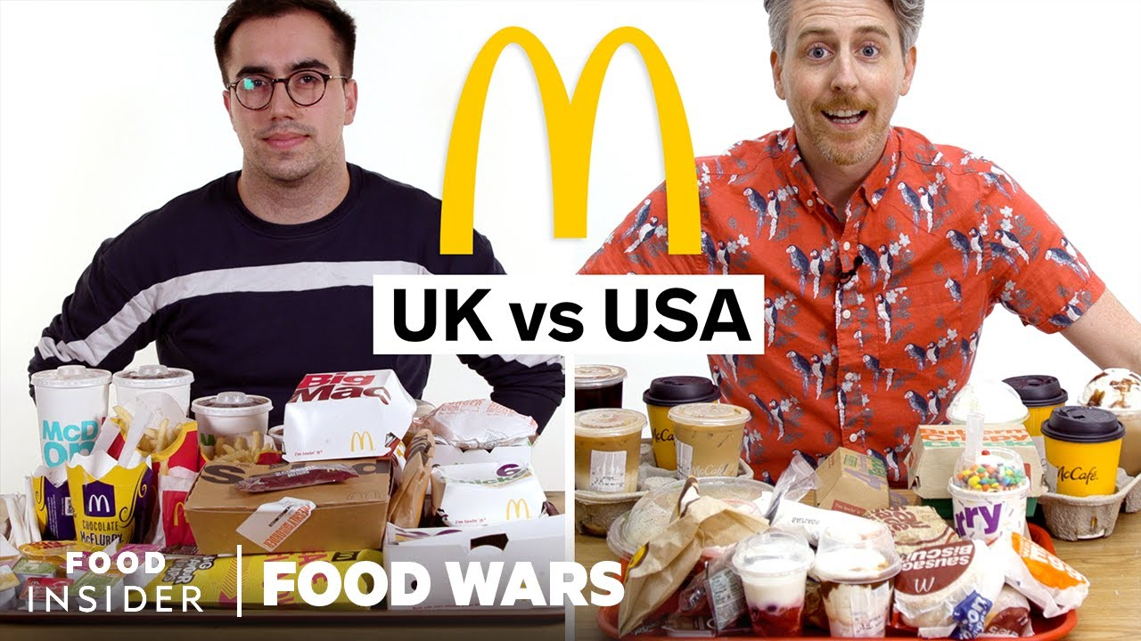McDonald s in US vs UK
